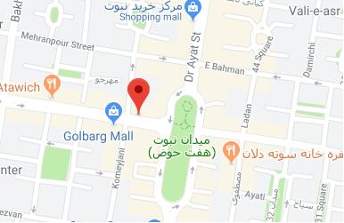 نقشه گوگل خاطرات خوش صفر